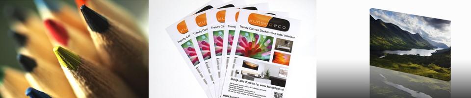 Goedkoop online drukwerk vergelijken - Vergelijk goedkoopste drukwerk: Flyers, visitekaartjes, promotiematerialen